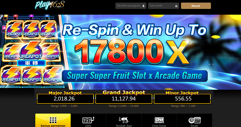 Daftar Judi Slot Play1628 Android Mobile - 7mmbet