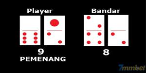 Player Ceme menang